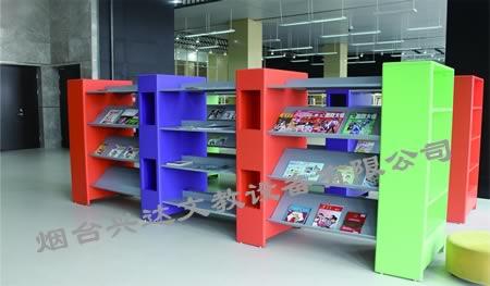 产品信息:SJ-F6035儿童钢木书架